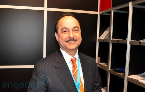 Ralph de la Vega says he was misquoted, doesn't know of a Dell smartphone