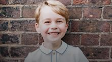New photo marks Prince George's fifth birthday: His memorable moments