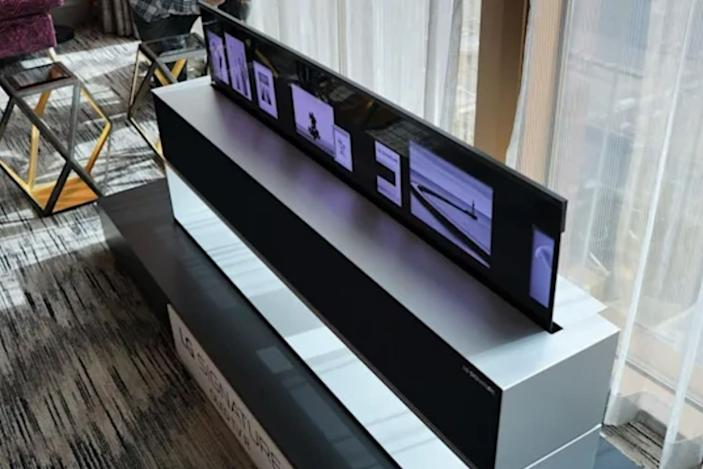 LG's rollable OLED R TV is available in the US, if you can afford one