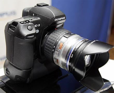 Olympus launches the E-3 DSLR?