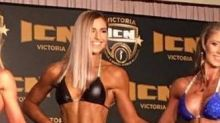 Tony Abbott's daughter Frances makes her bodybuilding debut
