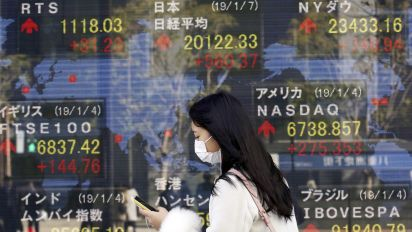 Global stocks rally, bond yields dive