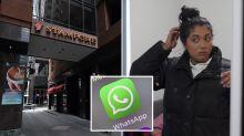 Coronavirus: WhatsApp used to recruit hotel security guard