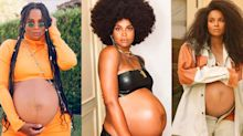 Ciara Glows in Three Different Hairstyles for At-Home Maternity Shoots