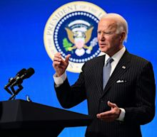 Joe Biden says he's willing to adjust income thresholds for stimulus checks in the new relief package