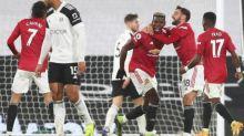 Foot - ANG - Edinson Cavani et Paul Pogba sauvent Manchester United à Fulham