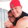 J.J. Watt meets Vince Wilfork's daughter, makes her year