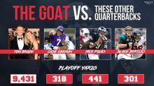 Our NFL Championship Sunday quarterbacks: Tom Brady and ... who???