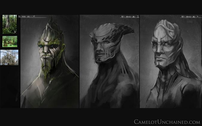 Camelot Unchained's producer's letter offers concept art, new storefront