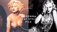 這身材怎看都不像 58 歲!Madonna 最新「內衣外穿」造型性感爆燈!