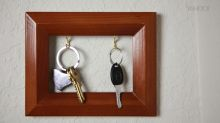 Hazlo Fácil: Cómo hacer un porta llaves a partir de un portarretrato