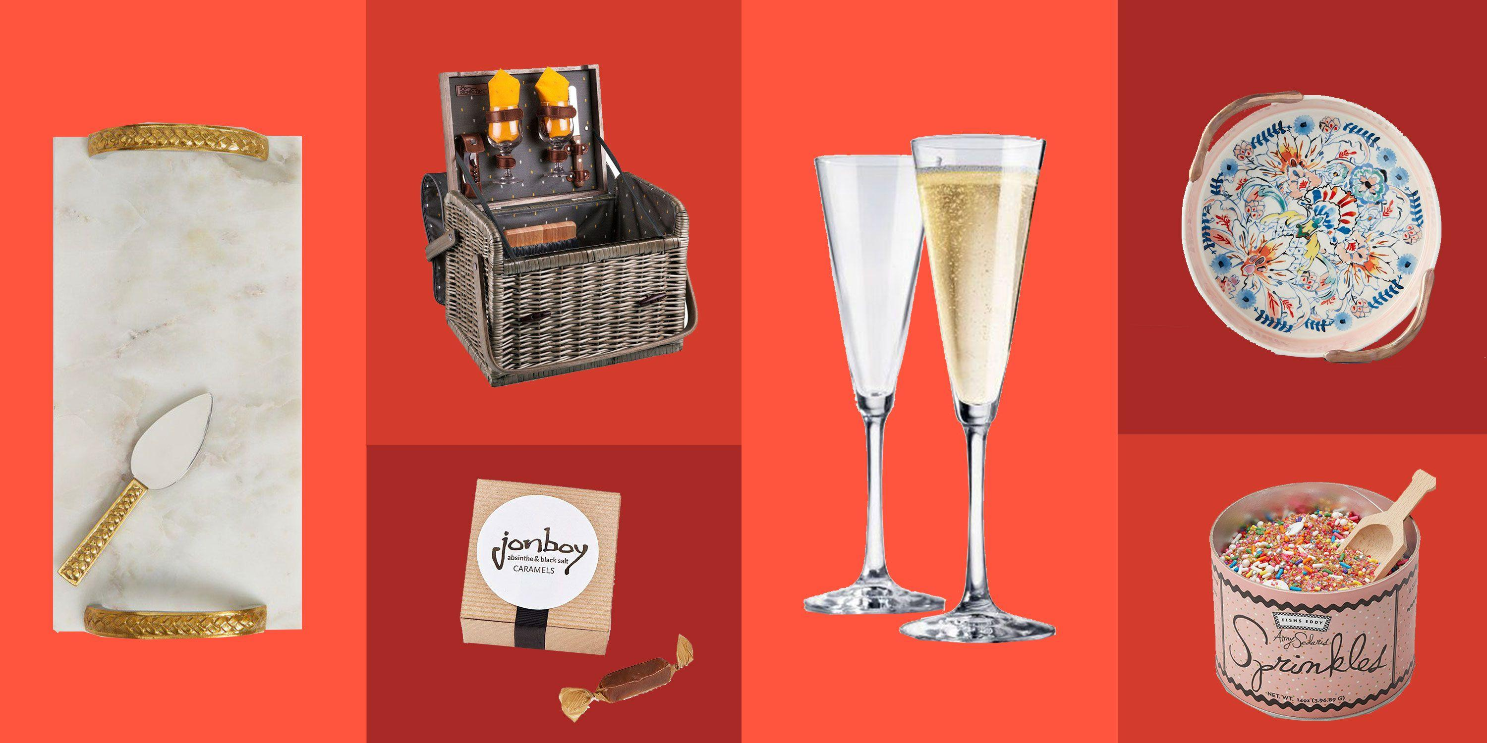 """<p>Party planners take one for the team and deal with alllll the logistics so everyone else can show up and have a good time. Reward their hard work this holiday season with one of these sweet, thoughtful gifts. For more gift ideas, browse our <a href=""""https://www.delish.com/holiday-recipes/christmas/g1704/american-state-gifts/"""" rel=""""nofollow noopener"""" target=""""_blank"""" data-ylk=""""slk:food gifts from all 50 states"""" class=""""link rapid-noclick-resp"""">food gifts from all 50 states</a> and <a href=""""https://www.delish.com/holiday-recipes/christmas/g2522/cheap-kitchen-gifts/"""" rel=""""nofollow noopener"""" target=""""_blank"""" data-ylk=""""slk:inexpensive kitchen gifts"""" class=""""link rapid-noclick-resp"""">inexpensive kitchen gifts</a>. Feel like cooking? Gift a batch of <a href=""""https://www.delish.com/holiday-recipes/christmas/g2177/easy-christmas-cookies/"""" rel=""""nofollow noopener"""" target=""""_blank"""" data-ylk=""""slk:homemade cookies"""" class=""""link rapid-noclick-resp"""">homemade cookies</a> this year.</p>"""