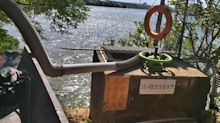 停灌後水門遭破壞偷水 桃園管理處報警處理