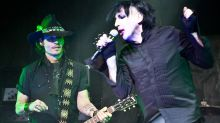Cantor Marilyn Manson sugere que Johnny Depp pode assumir posto de guitarrista em sua banda