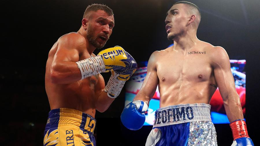Major matchup: Lomachenko-Lopez fight set