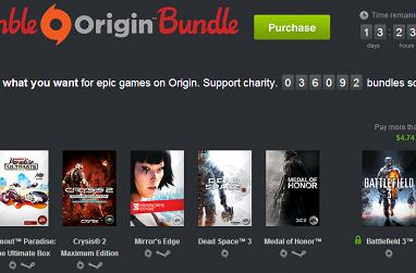 Humble Origin Bundle launches with Dead Space 3, BF3, Burnout Paradise Ultimate, Mirror's Edge and more