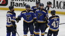 David Perron out for Blues in Game 1 against Avalanche