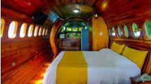 航空主題酒店 由駕駛艙到客艙型套房都有