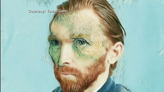 Van Gogh's Self-Portrait Recreated Into Modern Photograph