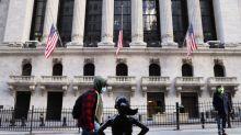 GLOBAL MARKETS-World stocks dip after new highs, dollar falls