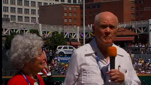 John Glenn Visits Cleveland, Remembers Neil Armstrong