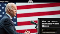 New White House website includes a hidden recruitment message for coders