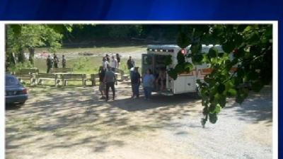 Crews Search For Toddler That Fell In River