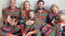 Your entire family can wear matching Christmas PJs