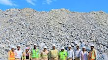 Copper Ore Grading 8% Currently Being Mined and Stockpiled at the Kakula Mine, with Underground Development Approximately 4.4 Kilometres Ahead of Schedule