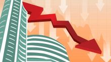 Sensex closes 300 points lower, Nifty falls below 10,700 on negative global cues