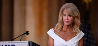 Conway steps off Trump train with dose of reality
