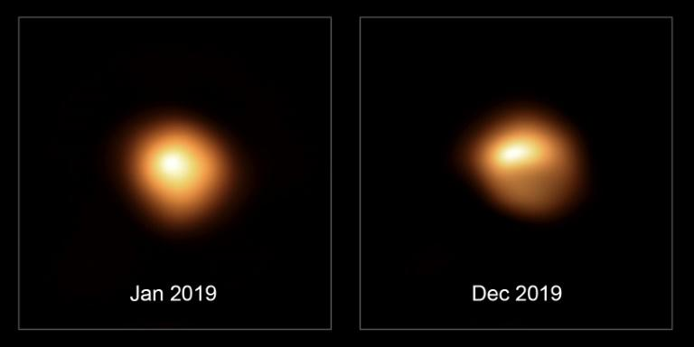 Betelgeuse is Dimming and Changing Shape, New Image of Its Surface Reveals