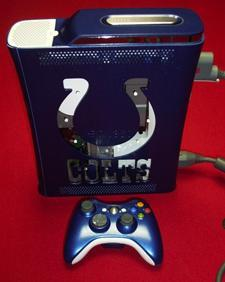 Superbowl XLI Colts 360 Case Mod on Ebay