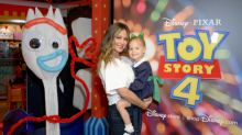 "Actress and Host Vanessa Lachey and daughter Brooklyn Kick off Toy Story 4 ""Takeover"" at Disney Store"