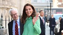 Pregnant Duchess of Cambridge is radiant in mint green ahead of maternity leave