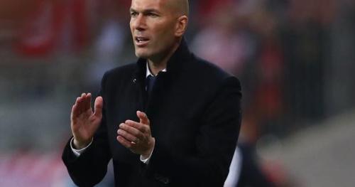 Foot - C1 - Real - Zinédine Zidane (entraîneur du Real Madrid) : «On aurait aimé marquer plus»