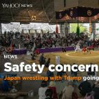 Trump's visit to check out Japanese sumo raises concerns