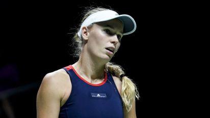 Tennis upset: Pliskova stuns Wozniacki in Singapore