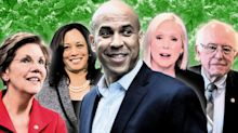 Cory Booker and 2020 rivals back legalizing pot