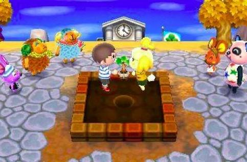 Mayor for a day in Animal Crossing: New Leaf