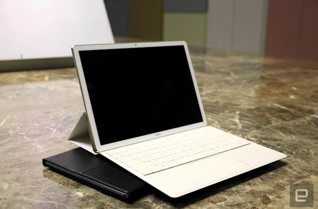 Huawei's MateBook is its spin on the Surface