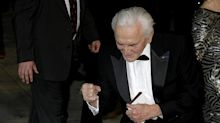 Catherine Zeta-Jones sends message to father-in-law Kirk Douglas as he turns 102