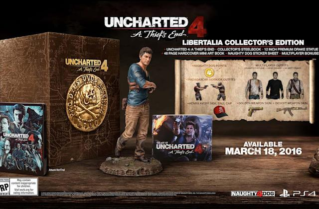 'Uncharted 4: A Thief's End' hits PS4 on March 18th