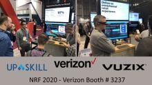 Vuzix M400 Smart Glasses Hands-Free AR Retail Solution Showcased by Verizon at NRF 2020