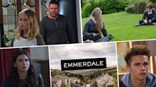 Next week on 'Emmerdale': Meena exposed at Leanna's funeral? Plus Aaron lashes out at Liv (spoilers)