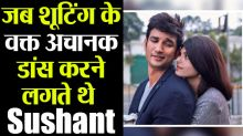 Sushant Singh Rajput used to dance with Sanjana Sanghi during the shoot