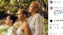 Jennifer Lopez, la foto beauty di famiglia scatena i fan