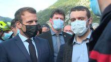 """""""On s'est sentis abandonnés"""": le maire de Breil-sur-Roya interpelle Macron après les intempéries"""