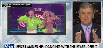 Spicer's 'DWTS' debut gets mocked across cable news