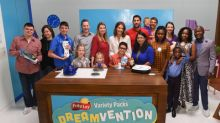 "Five Finalist Families Are Vying To Be Crowned The Next $250,000 Grand Prize Winner In Frito-Lay Variety Packs' ""Dreamvention"" Contest"